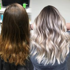 Balayage/ before and after/ blonde highlights/ Michigan balayage artists/ blonde hair/ #balayage