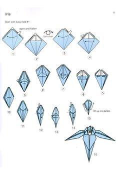 When taking up the Japanese craft of folding paper, it's important to start with a basic structure. Description from jewswar.com. I searched for this on bing.com/images
