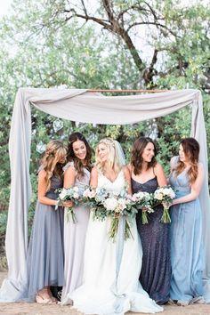 Dusty Blue + Copper Dream Wedding Ideas / http://www.deerpearlflowers.com/dusty-blue-and-copper-wedding-color-ideas/