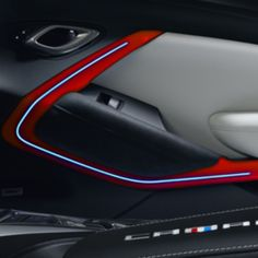 Add a personal touch to the interior of your Camaro with this Interior Illumination Package Camaro Interior Lighting Ambient Lighting Kit Red Day For Best Interior Paint, House Paint Interior, Interior And Exterior, Interior Painting, Interior Doors, The Doors, Camaro Interior, Interior Design Software, Interior Rendering