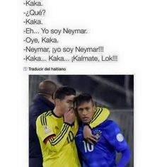 Kaka... Neymar, Baseball Cards, Sports, Comment, Hs Sports, Sport