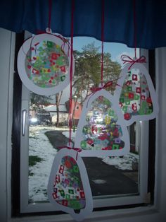 Christmas sun catchers