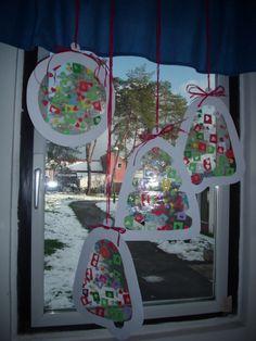 Christmas sun catchers