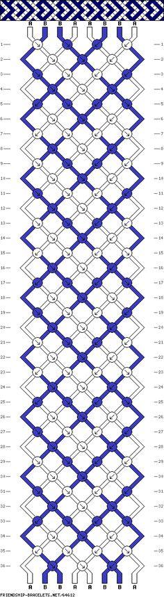 Friendship Bracelet Patterns #64612