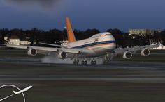 """South African Airways ZS-SAU """"Cape Town"""" Boeing 747-344 with the old colours 1990"""