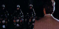 Clint eastwood vs three moto guzzi