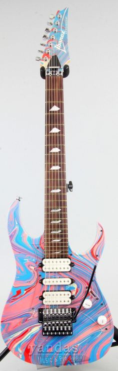 """25th Anniversary """"Passion And Warfare"""" Steve Vai Limited Edition Guitar In Honor of the 25th Anniversary Of Steve Vai's groundbreaking album """"Passion And Warfare"""", Ibanez proudly presents three very l"""