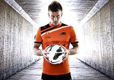 Sports portrait photo by award winning photographer Bradley Kanaris who is based in Brisbane, Australia. This photo is of Brisbane Roar soccer player Erik Paartalu who plays in the A-League Soccer competition in Australia.