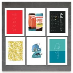 curated: 'Primaries' on Minted.com