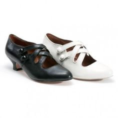 Titanic Era Shoes- Downton Abbey Shoes- Edwardian Shoes- Early 1920's Shoes  http://www.vintagedancer.com/edwardian/shop-titanic-style-edwardian-shoes/