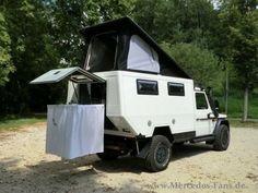 Suv Camper, Truck Bed Camper, Off Road Camper, Truck Camping, Camper Trailers, Camper Van, Mercedes G Wagon, Mercedes Benz G Class, 4x4 Trucks