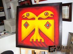 Miralo Enmarcado - Taller de Marcos Cuadros y Espejos: Montado de pinturas en bastidor para enmarcado