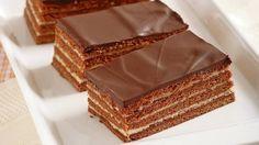 Medové dobošové rezy Oreo Cupcakes, Vanilla Cake, Tiramisu, Cheesecake, Food And Drink, Cooking Recipes, Bread, Candy, Cookies