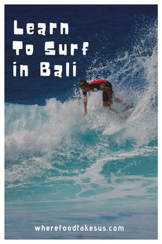 Want to learn to surf in Bali? Kuta offers up some awesome waves as well as cheap and fun lessons to help you stand up on that board and ride the wave! China Travel, Bali Travel, Japan Travel, Surfing Ireland, Learn To Surf, Top Travel Destinations, Kuta, Travel Guides, Travel Tips