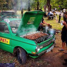 Александр Маринич (@marinich_a) в Instagram: «#шашлык #мангал #мясо #отдых #beef #zaz #заз #запорожец #арарат #машина #наколесах #car #bbq #заз968»