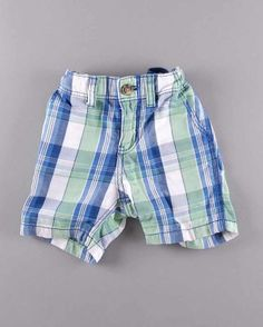 Pantalón corto cuadros (talla 9 meses) 3,25€ http://www.quiquilo.es/bebe-nino/1630-pantalon-corto-cuadros.html