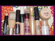 Overview review of Drugstore Concealers! ♥ aLoveTart - YouTube