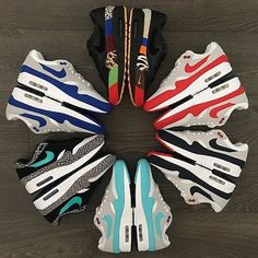 - Which pair is your favorite? By @mikemarvelous72 Click the link in our bio to shop. Make sure to follow @getswooshed.