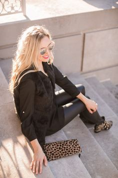 blush and camo, fashion blog, style blog, writers block, faux leather