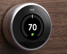 Warm Your Home, Cool Your Bill –The Nest Learning Thermostat monitors your unique behavior and programs itself in a week to keep you comfortable and save energy. With handy color displays, energy-saving indicators and online tools to keep you connected, you can watch the savings add up and keep your family warm and toasty in the coming winter months. #ecofriendly #home