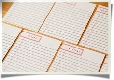 Journaling cards for Project Life....so cute!