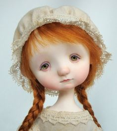 Reminds me of Cosette in Les Mis...  Doll by Ana Salvador