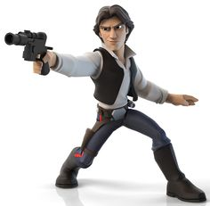 Disney Infinity 3.0 Edition: Star Wars Han Solo Game Piece - 1100 points