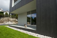 Idealcombi Futura+ and Futura+i in this stunning house by Norwegian architects HusGalleriet. Great inspiration for UK selfbuilders. Architect House, House Built, Cladding, New Homes, Windows, Architecture, Building, Outdoor Decor, House Design