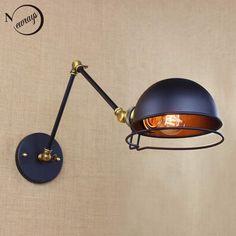 Zx moderne créative forgé fer LED puce bo te lampe applique murale