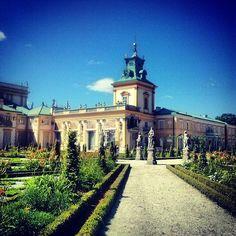 Pałac w Wilanowie - Wilanów Stary - Warszawa, Województwo mazowieckie