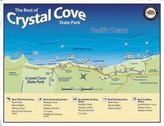 3 things to do in Los Angeles with kids. Crystal cove state park. Beach time. Softer waves than Huntington Beach.