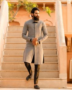 Final one from this series ! MrRanawat Rivesse RivesseClothing ethnic indianEthnic EthnicWear… is part of Wedding dress men - Mens Indian Wear, Mens Ethnic Wear, Indian Groom Wear, Indian Man, Nigerian Men Fashion, Indian Men Fashion, Mens Fashion Suits, Mens Traditional Wear, Kurta Men