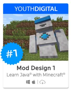 "MOD DESIGN 1: Learn to Code in Java with Minecraft | ""Learn to Mod! In our most popular course, kids ages 8-14 learn Java programming by modifying Minecraft and creating their own Mods from start to finish."""