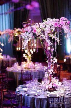 Love this Wedding reception deco ..... ♥♡♥♡