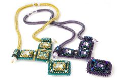 Dramatic Deco Necklace Bead Weaving Kit