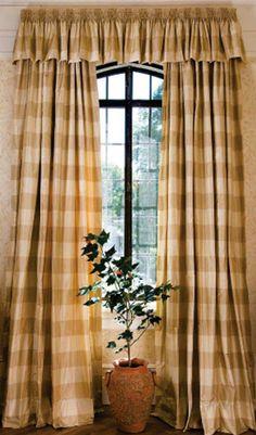 gold / tan drapes