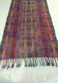 Handwoven Scarf /  Shawl / Wrap Multicolor by PenelopeNow on Etsy
