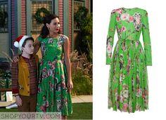 About a Boy: Season 2 Episode 8 Fiona's Green Floral Print Dress