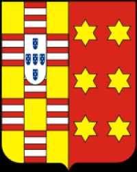 Cantagalo. Brasão de Armas do marquês de; as mesmas das famílias Gama e Freitas.