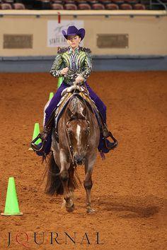 western riding at AQHA youth world