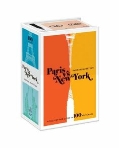 Paris Versus New York Postcard Box: #VahramMuratyan #parisvynyc