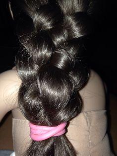 Five stranded braid Braided Hairstyles, Cool Hairstyles, Thick Braid, Big Bun, Super Long Hair, Braids For Long Hair, Amazing Hair, Long Hair Styles, Nails