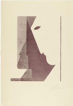 Radiergummi Stiftung Bauhaus Dessau Signet von Oskar Schlemmer
