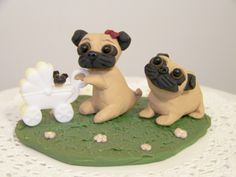 Pug Cake Topper must remember to buy this