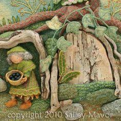 Detail From Sally Mavor's 'Pocket Full Of Posies'