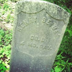 One of many from an old German cemetery.