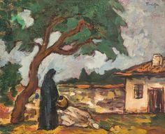 Nicolae Tonitza / Николае Тоница Painting, Art, Art Background, Painting Art, Kunst, Paintings, Gcse Art