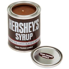 Hershey's Syrup Hand Poured Candle! hersheysstore.com