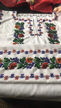 Veronica, Apron, Fashion, Embroidered Shirts, Blouses, Cross Stitch Art, Dots, Tejidos, Patterns