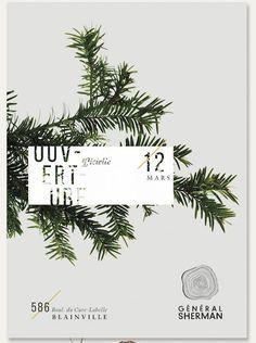 Flyer Design Graphic Design Nature Tree Pine General Sherman